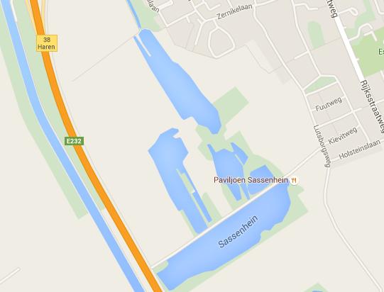 Paviljoen Sassenhein op Google Maps